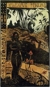 P.Gauguin, Nave Nave Fenua von AKG  Images