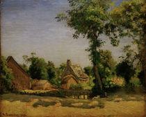 C.Pissarro, Landschaft (Dorf Melleraye) by AKG  Images