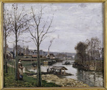 C.Pissarro, Waschhaus in Port Marly by AKG  Images