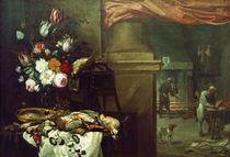Teniers u.a., Vor der Kueche von AKG  Images