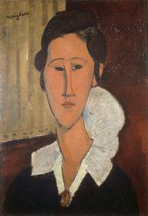 A.Modigliani, Frau mit Halskrause von AKG  Images