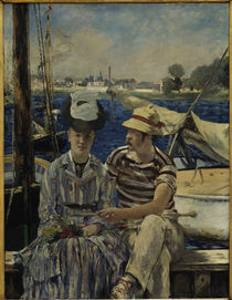 E.Manet, Argenteuil by AKG  Images