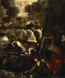 Tintoretto, Taufe Christi by AKG  Images