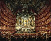 Pannini, Musikfest im Teatro Argentina von AKG  Images
