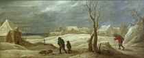 David Teniers d.J., Winterlandschaft von AKG  Images