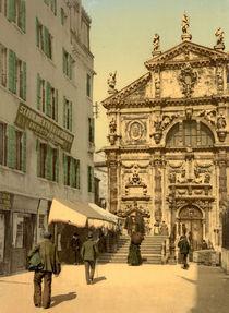 Venedig, San Moise / Photochrom von AKG  Images