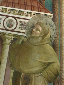 Giotto, Franz stuetzt Lateranskirche by AKG  Images