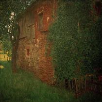 Gustav Klimt, Bauernhaus by AKG  Images