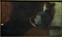 Gustav Klimt, Dame am Kamin von AKG  Images