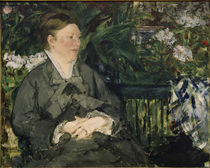 E.Manet, Madame Manet im Wintergarten by AKG  Images