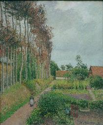 C.Pissarro, Gehoeft der Auberge Ango by AKG  Images