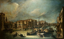 Venedig, Canal Grande / Canaletto by AKG  Images