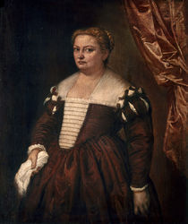 Veronese/ Bildnis einer Dame/ um 1570 von AKG  Images