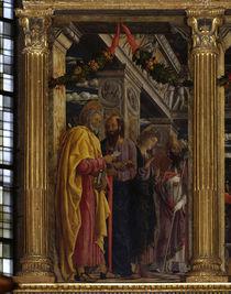 Mantegna, Petrus, Paulus, Johannes, Zeno by AKG  Images