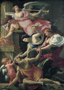 S.Vouet, Amor,Venus besiegen Saturn von AKG  Images