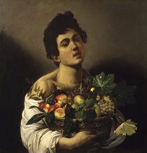 Caravaggio, Junge mit Fruechtekorb von AKG  Images