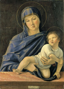 Giovanni Bellini, Maria mit Kind /Bergam by AKG  Images