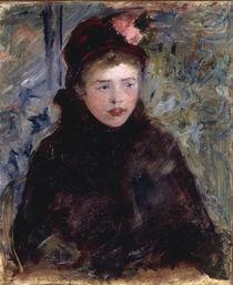 M.Cassatt, Junge Frau mit Toque by AKG  Images