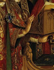 Pult / Jan v.Eyck, Genter Altar (Detail) by AKG  Images