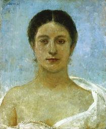 Max Klinger, Bianca /Portrait/ 1890 von AKG  Images
