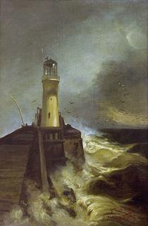 W.Leistikow, Mole mit Leuchtturm by AKG  Images