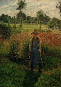 C.Pissarro, Der Gaertner,Nachmittagssonne by AKG  Images