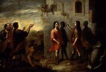 Erfindung der Malerei / Murillo zugeschr von AKG  Images