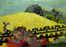 Paul Gauguin/ Parahi te marae von AKG  Images