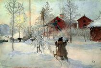 C.Larsson,Das Bauernhaus u.das Waschhaus von AKG  Images