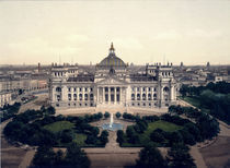 Berlin, Reichstag / Foto 1898 by AKG  Images