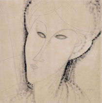 A.Modigliani, Frauenkopf by AKG  Images