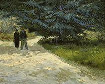 Van Gogh/Paar im Park von Arles/1888 von AKG  Images