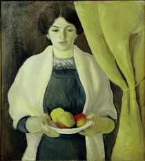 August Macke, Portraet Elisabeth Macke by AKG  Images