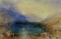 Zuger See / Aquarell v. W.Turner by AKG  Images