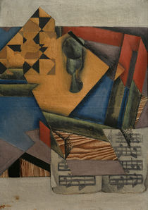 Juan Gris, Das Notenblatt by AKG  Images