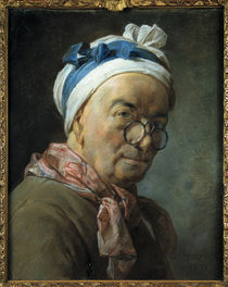 Chardin, Selbstbildnis mit Zwicker by AKG  Images