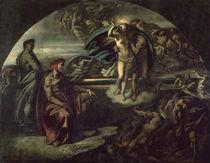 Dante und Vergil i.d.Unterwelt / Feuerb. by AKG  Images