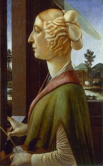 Botticelli/ Die heilige Katharina von AKG  Images