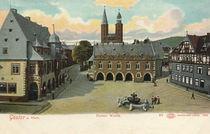 Goslar, Marktplatz mit Kaiserworth by AKG  Images