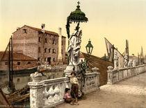 Chioggia, Madonnestatue / Photochrom by AKG  Images