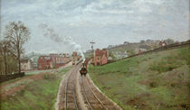 C.Pissarro, Lordship Lane Station by AKG  Images