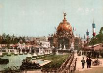 Paris, Weltausstellung 1889 / Photochrom von AKG  Images