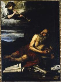 J.de Ribera, Hl.Hieronymus mit dem Engel von AKG  Images