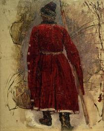 W.I.Surikow, Strelitze im roten Kaftan von AKG  Images