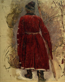 W.I.Surikow, Strelitze im roten Kaftan by AKG  Images