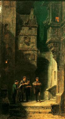 C.Spitzweg, Das Quartett by AKG  Images