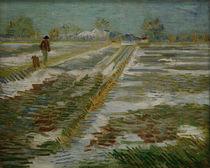 V.van Gogh, Landschaft im Winter von AKG  Images