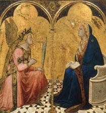 A.Lorenzetti, Verkuendigung an Maria by AKG  Images