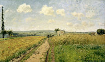 C.Pissarro, Junimorgen bei Pontoise by AKG  Images