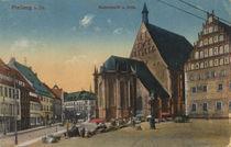 Freiberg, Dom und Museum / Fotopostkarte von AKG  Images